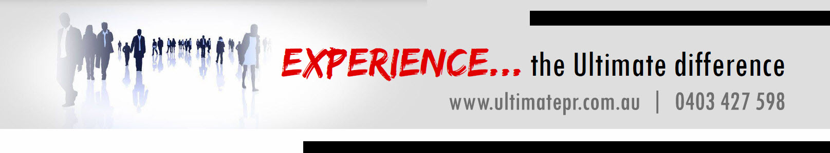 UPR website banner option 2019 clients experience the difference